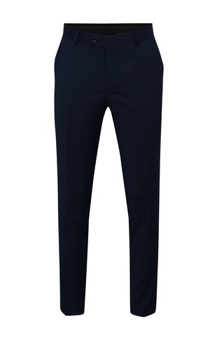 Pantalon formal de lana albastru inchis Good Son