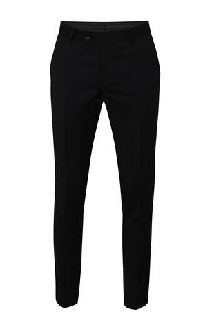 Pantalon formal de lana albastru-negru Good Son