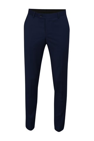 Pantalon formal de lana albastru Good Son