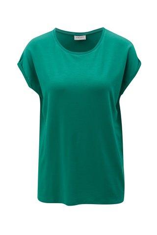 Tricou oversize verde inchis VERO MODA Ava
