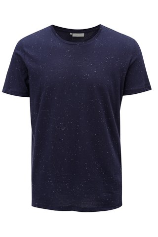 Tricou albastru inchis Casual Friday by Blend