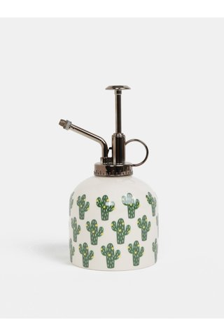 Pulverizator pentru flori crem cu print de cactusi Sass & Belle Cactus