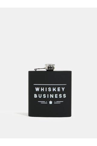 Černá placatka na whisky CGB