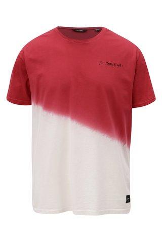 Tricou roz-rosu ONLY & SONS Dipz
