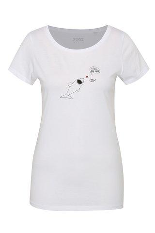 Tricou de dama alb ZOOT Original Peste
