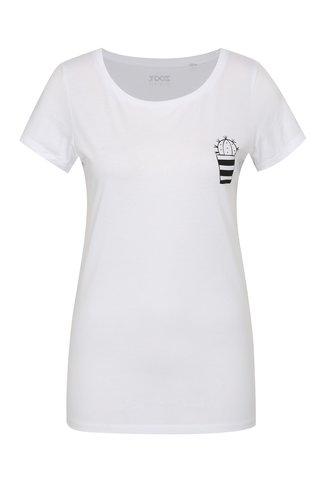 Tricou de dama alb ZOOT Original Cactus