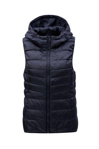 Tmavě modrá prošívaná vesta ONLY Tahoe