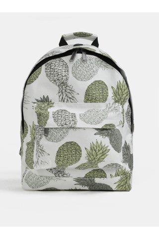 Rucsac alb cu print de ananasi Mi-Pac Pineapple