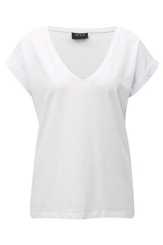 Bílé tričko VILA Dreamers
