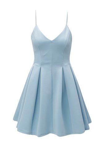 Rochie albastru deschis cu bretele subtiri Miss Selfridge