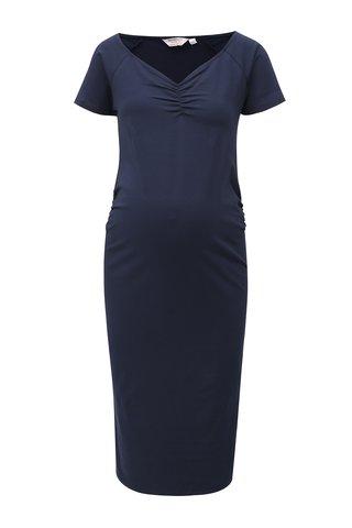 Rochie albastru inchis teaca pentru femei insarcinate Dorothy Perkins Maternity