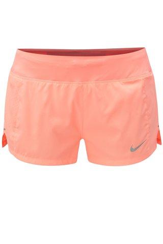 Pantaloni de dama functionali scurti oranj neon Nike Eclipse