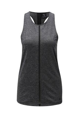 Maiou de dama gri inchis slim fit functional Nike Tank Cool Shine
