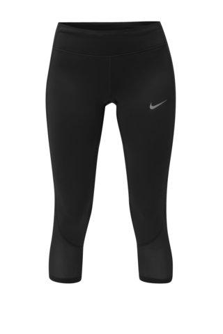 Leggins functionali de dama 3/4 negru Nike Racer Cool Crop