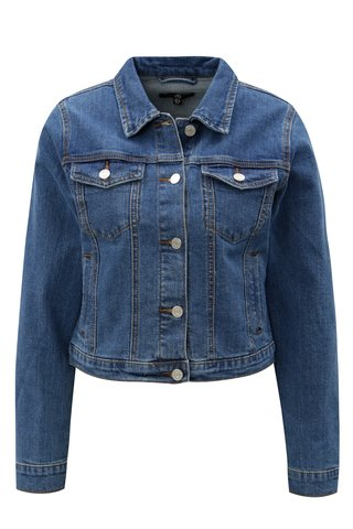 Jacheta albastra din denim MISSGUIDED