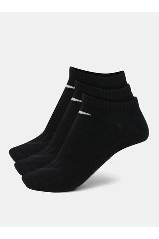Sada tří párů ponožek v černé barvě Nike Lightweight