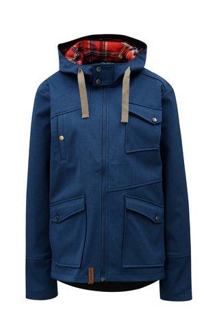 Jacheta de dama albastru inchis softshell impermeabila WOOX MOLLIS CONCHA