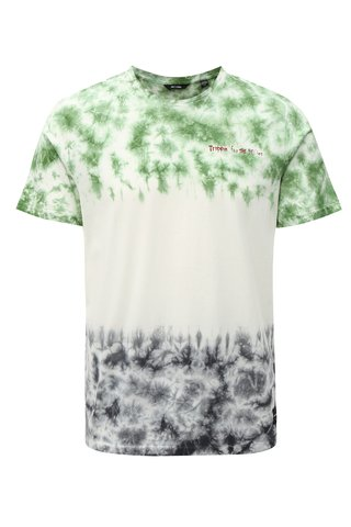 Tricou verde-crem ONLY & SONS Tye