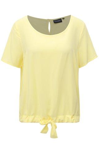 Bluza galben cu snur in partea de jos Broadway Celise