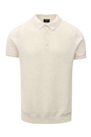 Krémový svetr s krátkým rukávem Burton Menswear London
