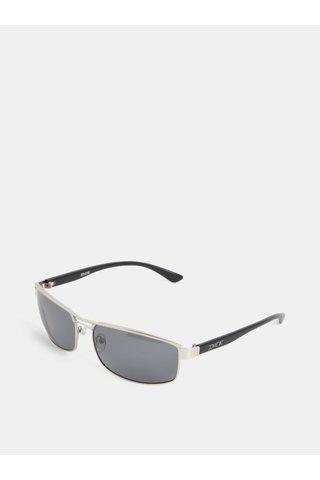 Pánské sluneční brýle ve stříbrné barvě  Dice Arm Polar