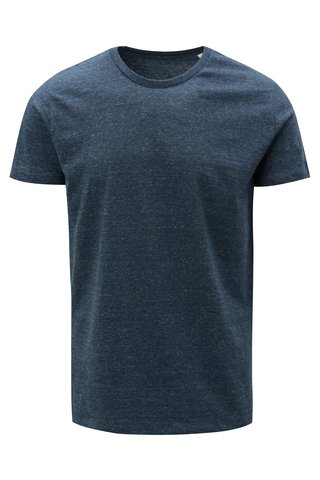 Tmavě modré pánské žíhané tričko Stanley & Stella