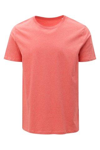 Korálové pánské žíhané tričko Stanley & Stella
