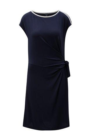 Rochie albastru inchis cu cordon in talie Nautica