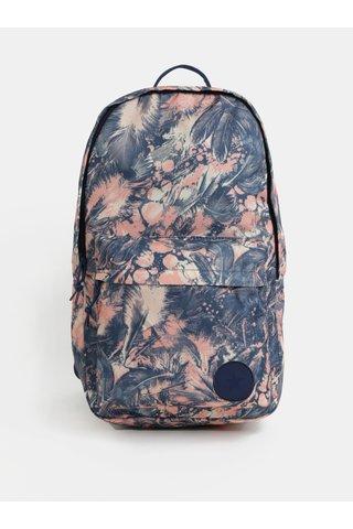 Rucsac de dama roz-albastru cu model Converse EDC Backpack 19 l