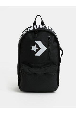 Ruscac negru impermeabil cu print Converse Street 22 Backpack