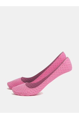 Set de 2 perechi de sosete roz cu model Andrea Bucci Second 60 DEN