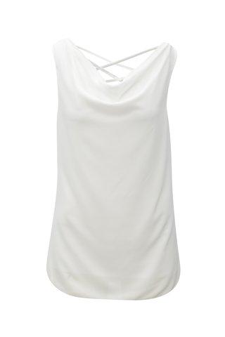 Bluza alba oversize cu barete la spate Haily´s Ceyda