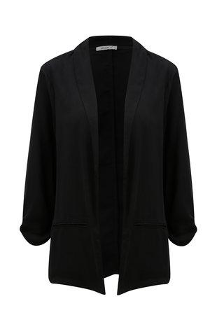 Černé lehké sako s 3/4 rukávy Haily´s Ella
