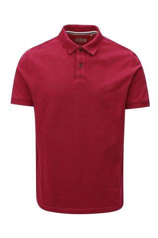 Tricou barbatesc polo roz regular fit s.Oliver