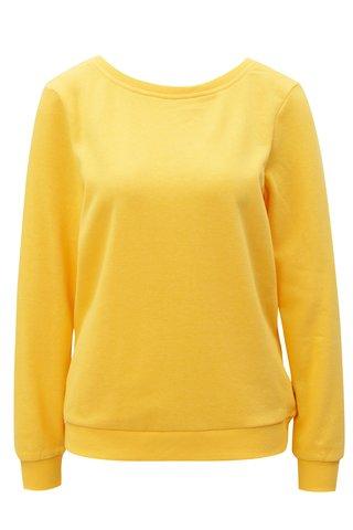 Bluza sport galben cu decolteu la spate Noisy May Christian