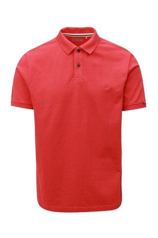 Tricou barbatesc polo rosu regular fit s.Oliver