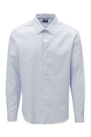 Camasa slim fit albastru deschis Burton Menswear London