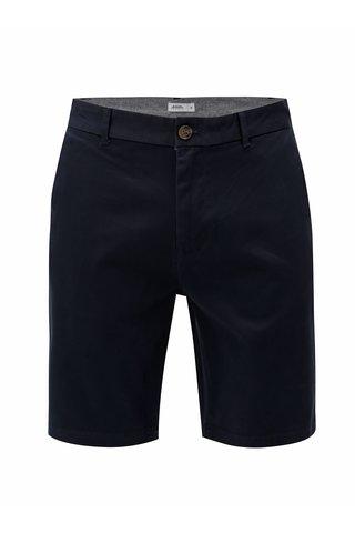 Pantaloni scurti albastru inchis chino Burton Menswear London