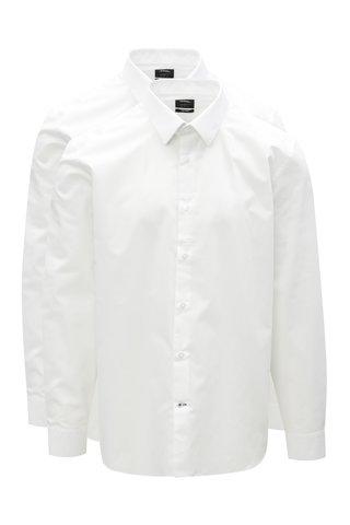Set de 2 camasi tailored fit albe Burton Menswear London