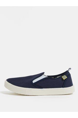 Pantofi slip on albastru inchis MILAN Oldcom