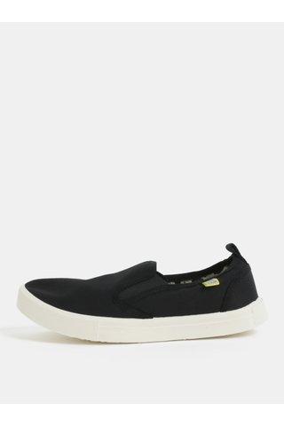 Pantofi slip on negri MILAN Oldcom