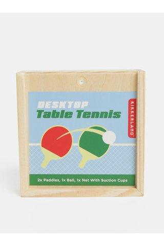 Set tenis de masa mic Kikkerland