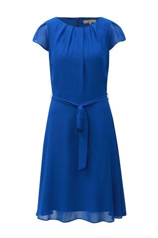 Rochie albastra cu cordon detasabil in talie Billie & Blossom Tall