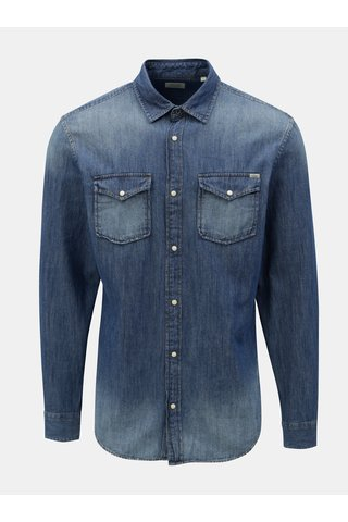 Camasa albastra din denim Jack & Jones