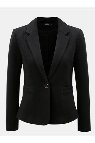 Černé sako s kapsami ONLY Olivia