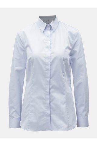 Světle modrá dámská košile se skrytou légou VAVI