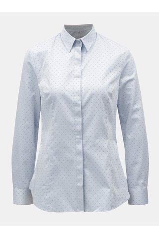 Camasa de dama albastru deschis cu model VAVI