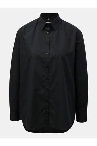 Černá dámská volná košile VAVI