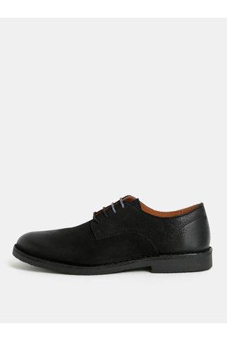 Pantofi negri din piele naturala Selected Homme