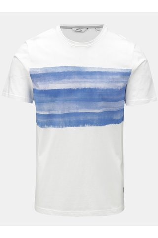 Tricou alb cu print ONLY & SONS